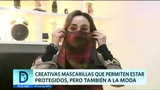Coronavirus en Perú: moda llega a las mascarillas