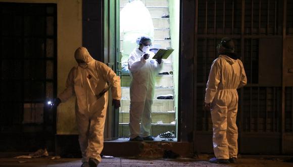 Las 13 víctimas fallecieron asfixiadas en la escalera de la discoteca Thomas Restobar. (Foto: Joel Alonzo/GEC)