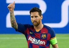Barcelona a cuartos de final de la Champions League: con gol de Messi, ganó 3-1 al Napoli en Camp Nou