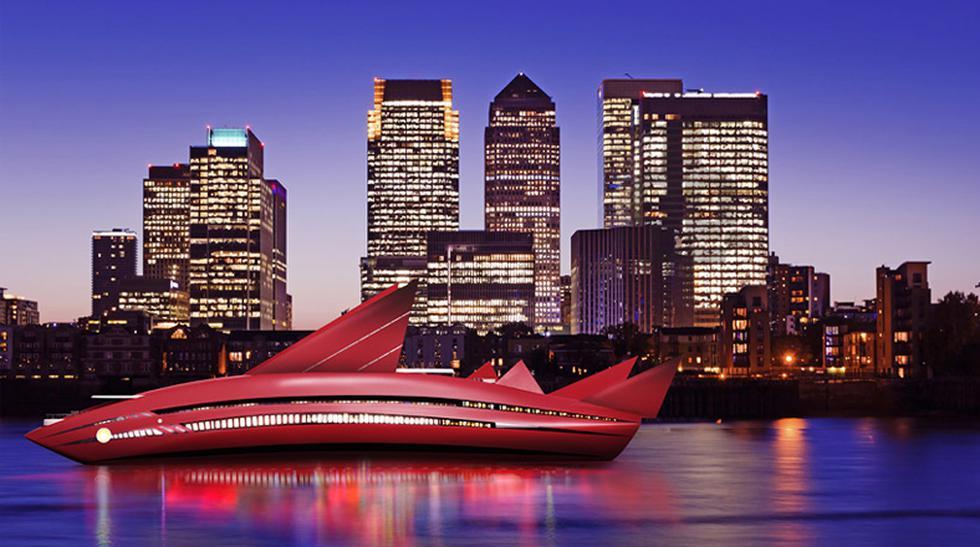 Yates del futuro: Naves se verían como ciudades y obras de arte - 5