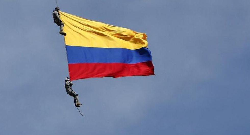 Las hipótesis en la muerte de los soldados que cayeron de un helicóptero en Colombia. Foto: EFE