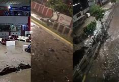 Tacna: fuertes lluvias provocan huaicos que inundan calles y afectan viviendas | VIDEO