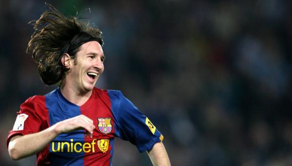 El primer 'hat-trick' de Lionel Messi contra el Real Madrid. (Foto: AFP)