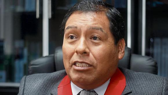 """Juez Sahuanay: """"Sí pueden volver a pedir medidas para Heredia"""""""