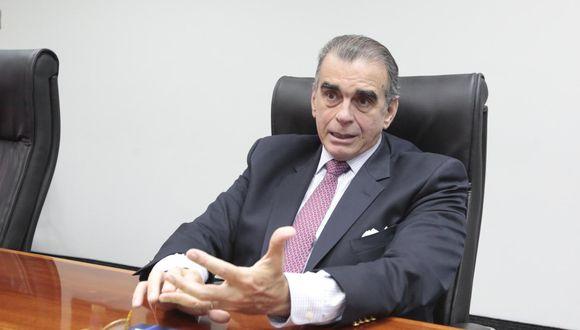 Olaechea descartó haber participado de alguna reunión en la que se habló de retirar a Kuczynski de la presidencia. (Foto: GEC)