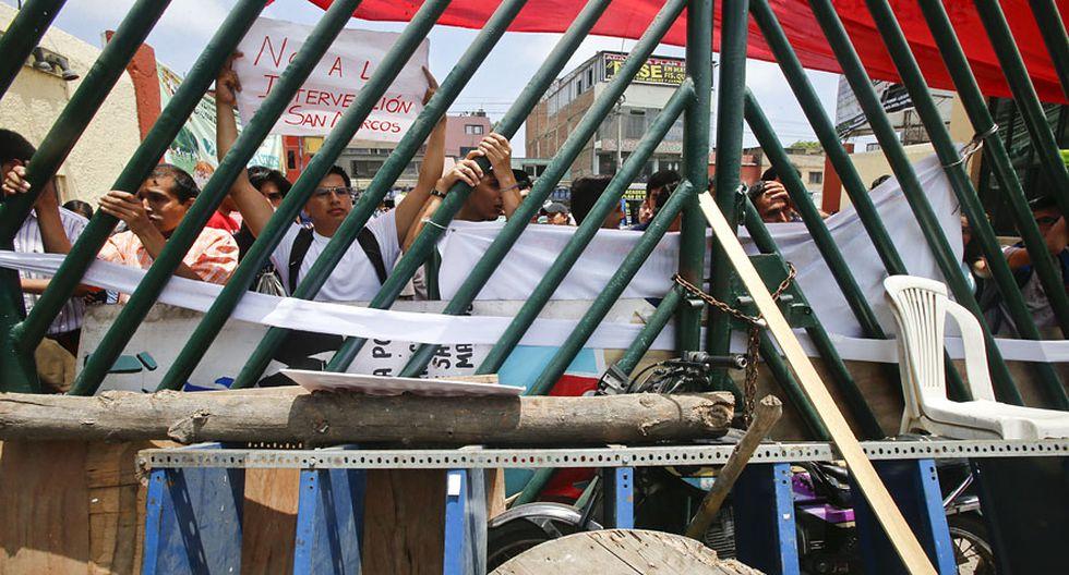 UNMSM: así fue enfrentamiento entre estudiantes y trabajadores - 15