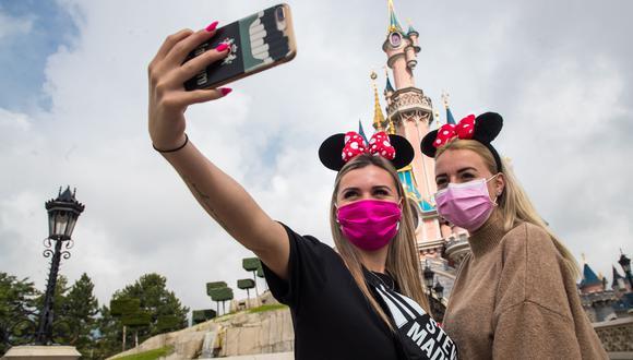 La reapertura de Disneyland París se llevará a cabo con exhaustivas medidas sanitarias y de seguridad. (Foto: EFE /CHRISTOPHE PETIT TESSON)