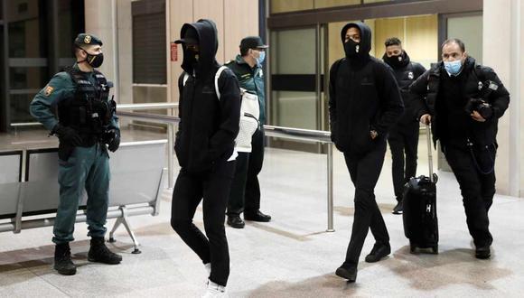 Real Madrid no podrá volver a casa y volará el lunes a la ciudad de Málaga. (Foto: EFE)