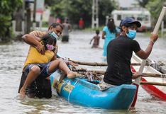Al menos 6 muertos y 180.000 afectados por las inundaciones en Sri Lanka   FOTOS