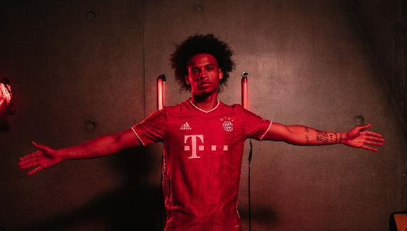 Leroy Sané jugará en Bayern Múnich hasta junio del 2025. (Foto: @FCBayern)
