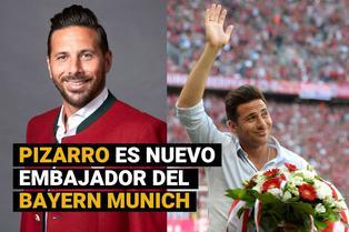 Claudio Pizarro: embajador y leyenda del Bayern Munich