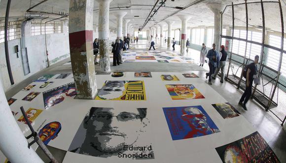 La asombrosa exposición en Alcatraz hecha por un artista chino