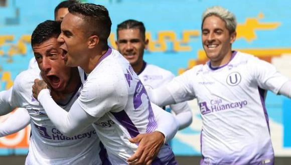 Universitario de Deportes empató 2-2 con Carlos A. Mannucci en cancha. (Foto: Universitario de Deportes)