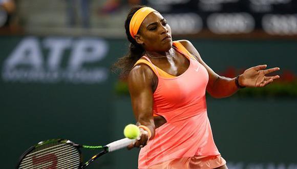 Serena Williams se retiró y Halep pasó a final de Indian Wells