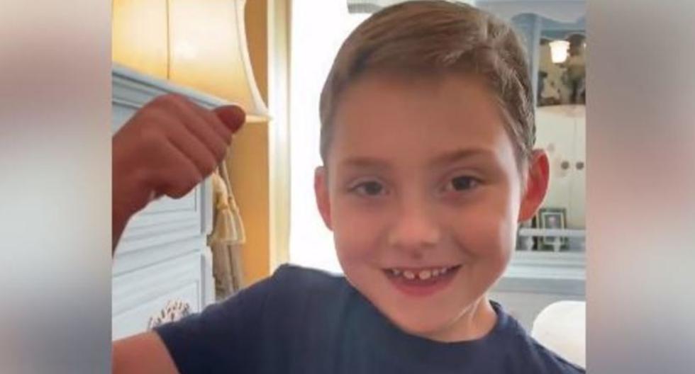 Bostain fue adoptado cuando tenía 14 meses. Necesita tratamientos de respiración cada día, explicó su madre al periódico Main Street Clarcksville. (Foto: Captura Facebook)