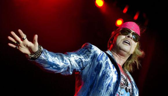 "Axl Rose usa Twitter para reírse de ""regreso"" de Guns N' Roses"