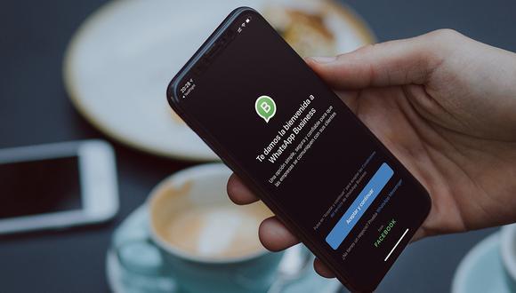 """Así luce el """"modo oscuro"""" de WhatsApp Business y no creerás cómo luce ahora. (Foto: WhatsApp)"""