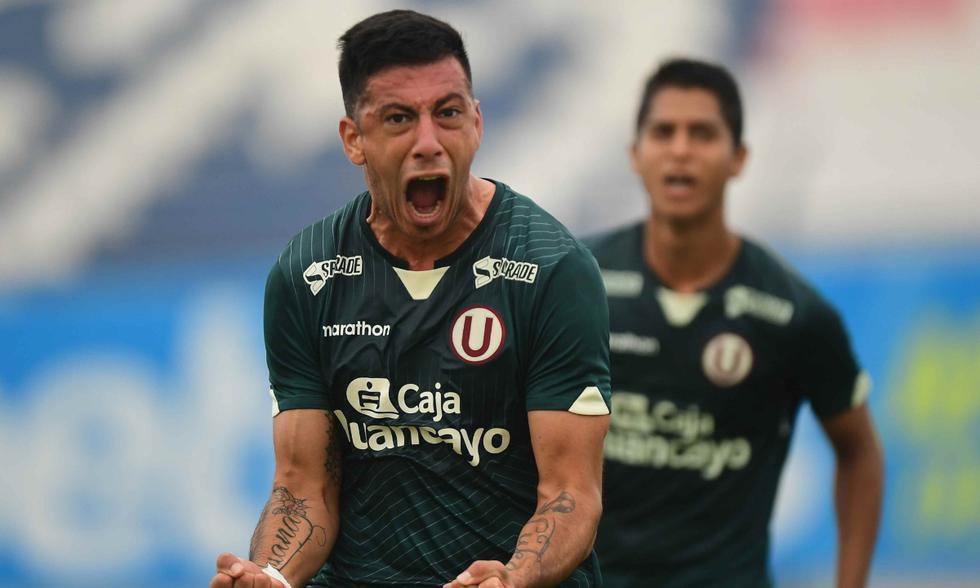 Universitario empató 3-3 ante Ayacucho FC. Los cremas terminaron con 8 jugadores y rescataron un punto de oro. | Foto: @ligafutprof