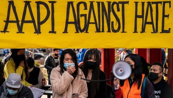 Ha habido varias manifestaciones en California en contra de los ataques a ciudadanos de origen asiático. (Getty Images).