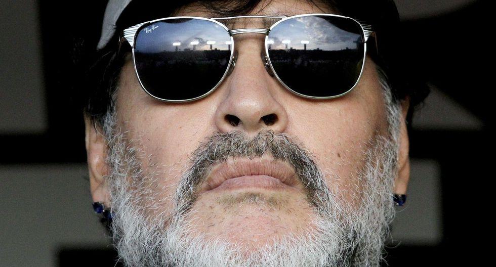 Diego Maradona quedó mortificado por la caída de Argentina en su debut en la Copa América. (Foto: AFP)