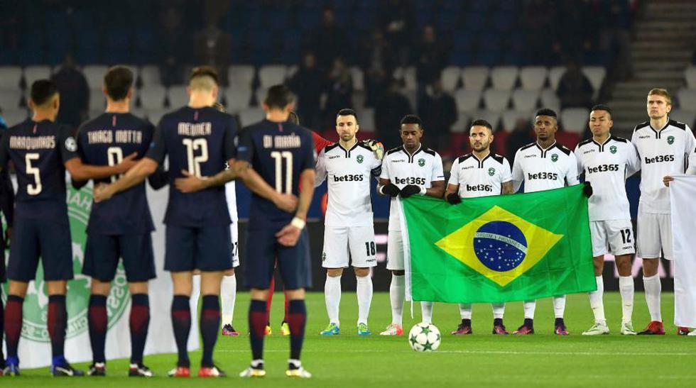 Víctimas del Chapecoense fueron recordadas en Champions League - 10