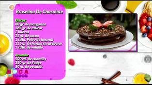 Tres minutos de dulzura: aprenda a preparar bruselina de chocolate