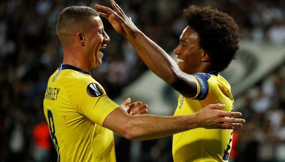 Chelsea logró un importante triunfo en el campo del PAOK, por la primera fecha del Grupo L de la Europa League. (Foto: AFP)