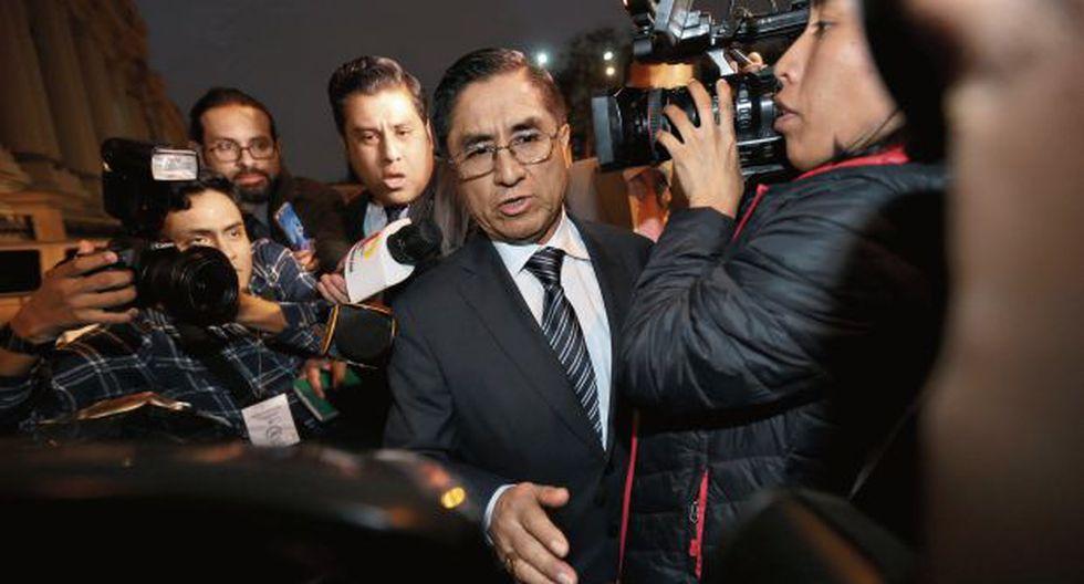 El exjuez supremo César Hinostroza sostuvo conversaciones telefónicas con Falconí y Zavala. (Foto: Hugo Pérez/ GEC)