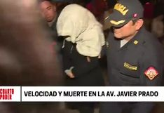 Conductora quedó en libertad tras terrible accidente en Javier Prado