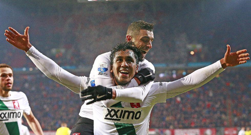 Renato Tapia acapara la atención con su gol en el FC Twente - 6