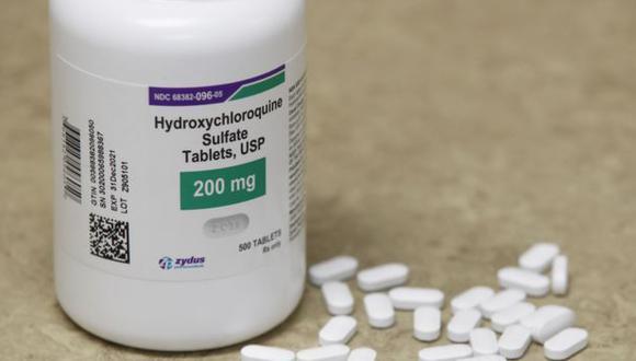 El presidente Donald Trump dijo que él había estado tomando hidroxicloroquina. (GETTY IMAGES)