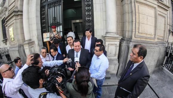 Miguel Saldaña, presidente de la mancomunidad de Lima Norte y alcalde de Comas.