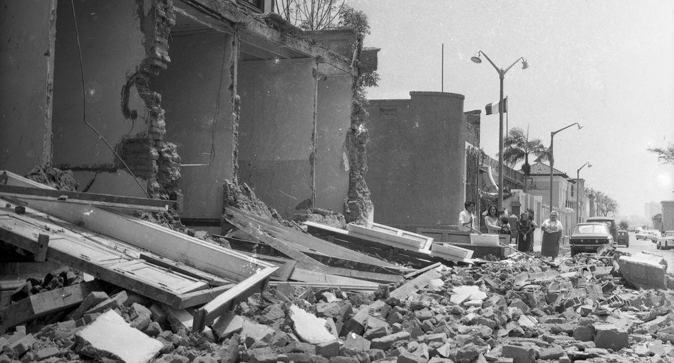 3 de octubre de 1974: un terremoto de 7,7 grados se registró en Lima a las 9:21 a.m. y azotó la capital del Perú, así como gran parte de la costa peruana, hacia el sur. (Foto: archivo El Comercio)