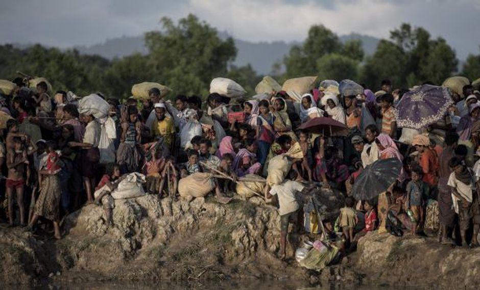Investigación de la ONU dice que seis miembros de las fuerzas armadas de Birmania deberían ser investigados por genocidio contra los rohinyá. (Foto: AFP)