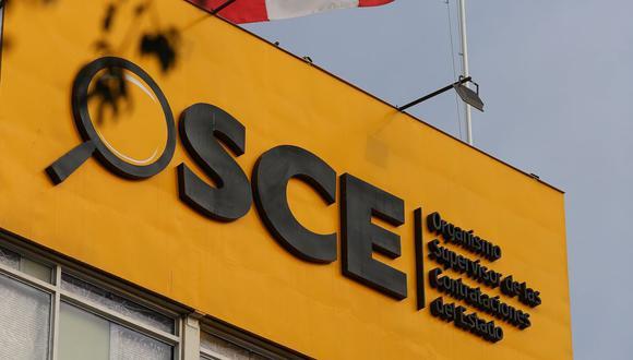 El Organismo Supervisor de las Contrataciones del Estado (OSCE). (Foto: GEC)