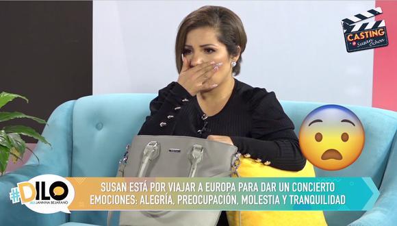 Susan Ochoa actúa en #Dilo con Jannina Bejarano