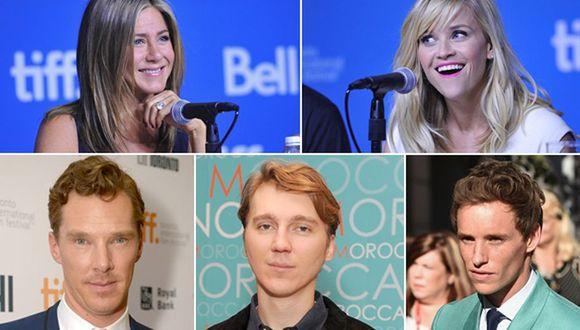 Jennifer Aniston, Reese Witherspoon, Benedict Cumberbatch, Paul Dano y Eddie Redmayne entre los favoritos de la crítica. (Fotos: Getty Images)
