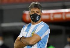 El gesto de Renato Gaúcho en los octavos de final de la Copa Libertadores en homenaje a Maradona | FOTO