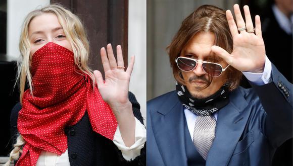 Amber Heard habría simulado contusiones en el rostro, según un amigo de Johnny Depp. (Foto: AFP/Tolga AKMEN)
