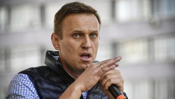 El líder opositor ruso Alexei Navalny en una imagen del 30 de abril del 2018 en Moscú. (Foto: Alexander NEMENOV / AFP).