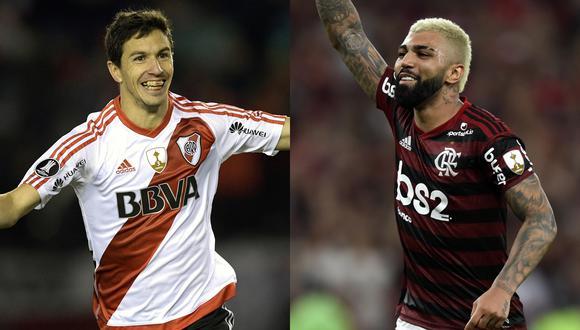 Sigue EN VIVO y minuto a minuto el partido la final de la Copa Libertadores entre River Plate y Flamengo. (Foto: AFP)