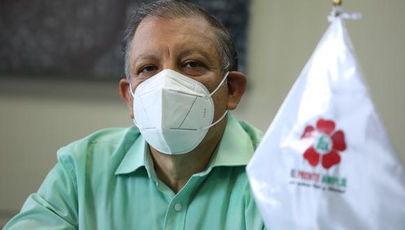 El partido Frente Amplio anunció que respaldará la candidatura de Pedro Castillo para la segunda vuelta electoral. (Foto: archivo GEC)