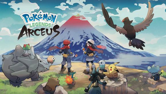 Leyendas Pokémon: Arceus. (Imagen: The Pokémon Company / Nintendo)