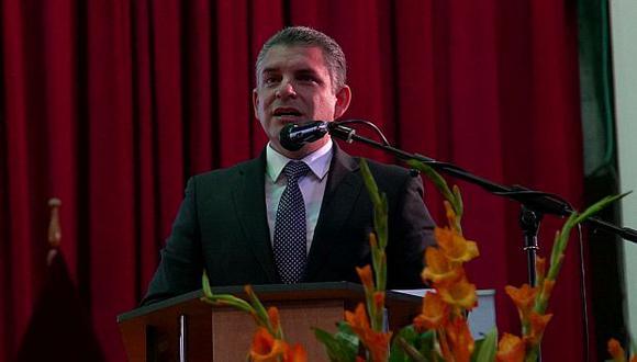 Rafael Vela anunció que el lunes se presentará acusación por lavado de activos contra implicados en el Caso Ecoteva. (Foto: Charlie Hidalgo/ El Comercio)