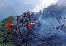 Amazonas: incendio cerca a fortaleza de Kuélap aún no ha sido controlado [FOTOS]