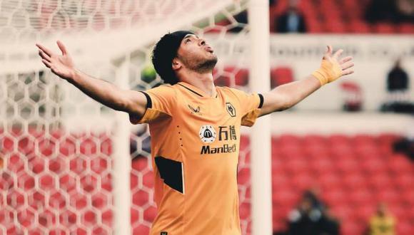 La vuelta de Raúl Jiménez con Wolverhampton. (Foto: Wolves)