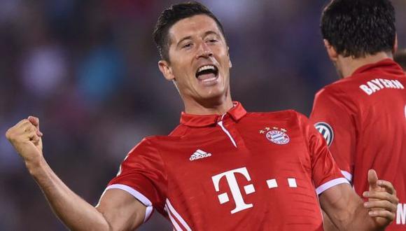 Bayern recuerda un golazo de Lewandowski por su cumpleaños