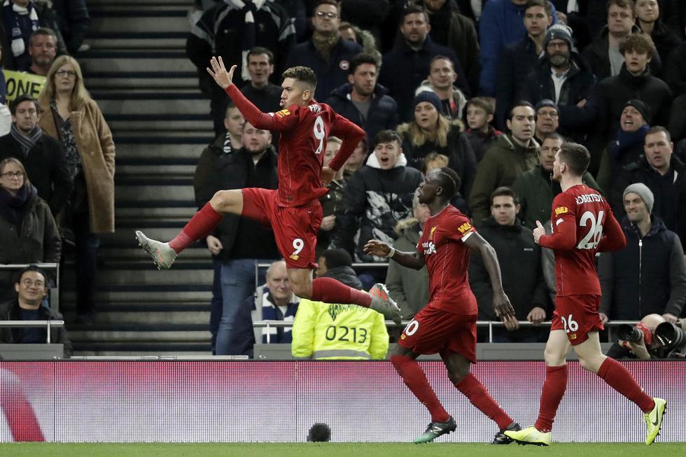 Liverpool vs. Tottenham: las mejores imágenes del partido por la fecha 22 de la Premier League. (AP Photo/Matt Dunham)