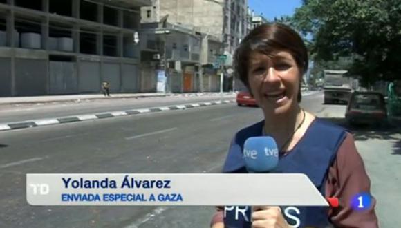 Israel arremete contra corresponsal española en Gaza