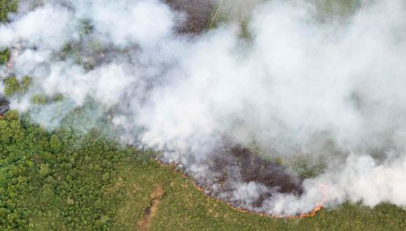 Incendio en Holanda. (Foto: AFP)